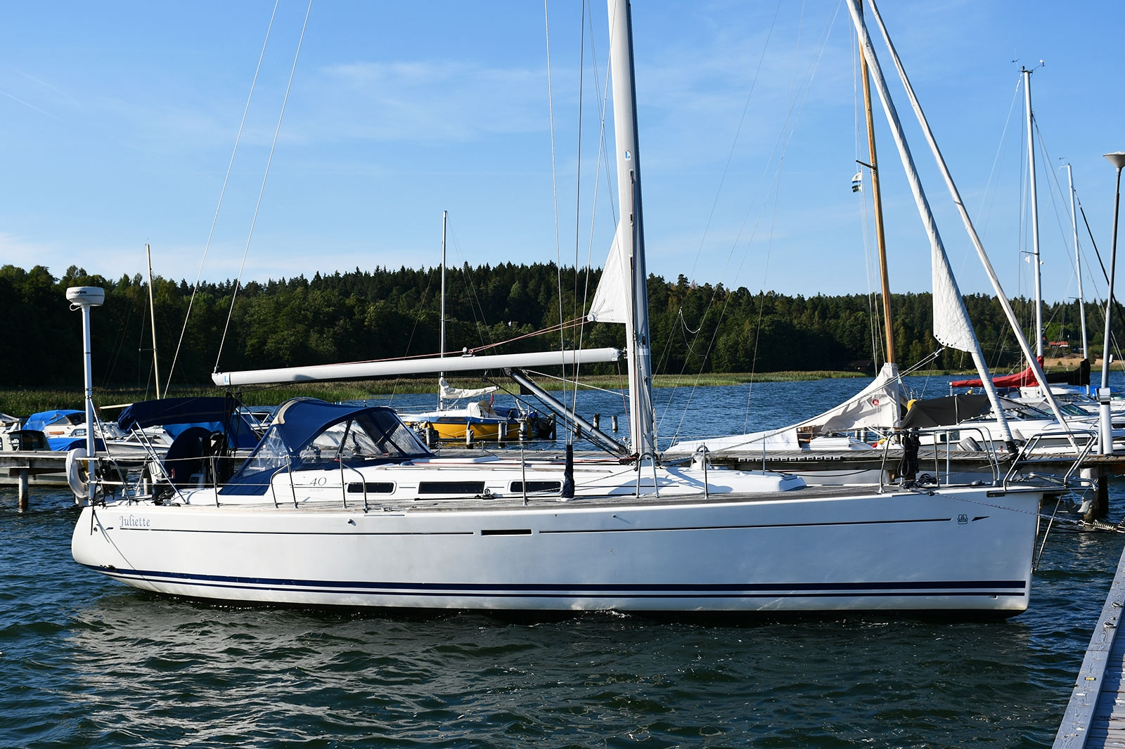 Dufour 40 Performance 2-kabin